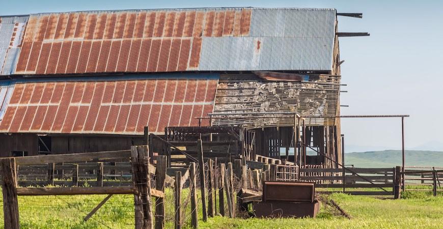 Virginia Smith Trust barn at UC Merced