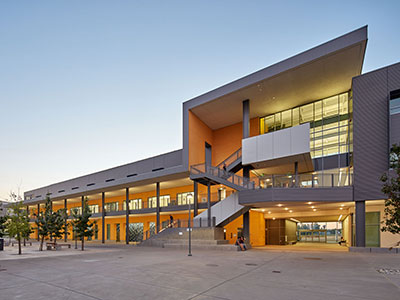UC Merced has earned LEED platinum certification for Classroom and Office Building 2.
