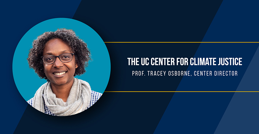 The Center for Climate Justice's two-day launch event kicks off on Earth Day, April 22.
